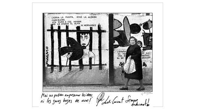 Exposición fotogràfica 'Llibertats perdudes'.
