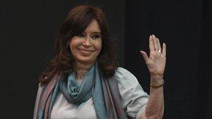 La expresidente argentina, Cristina Fernández de Kirchner.