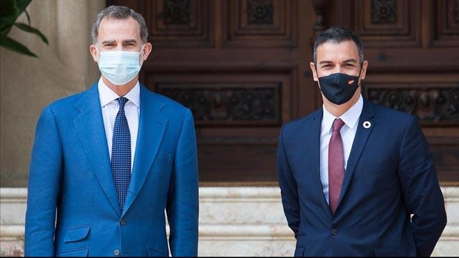 Felipe VI y Pedro Sánchez viajarán este viernes a Barcelona.