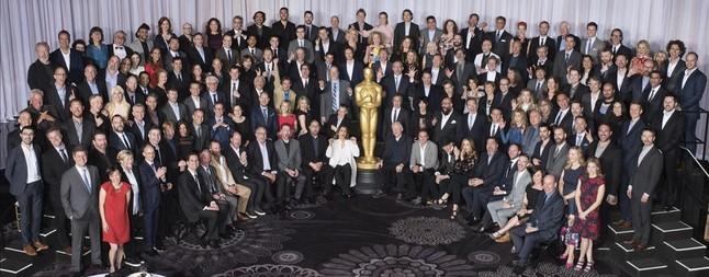 Los nominados a los Oscar, en el almuerzo en Hollywood.