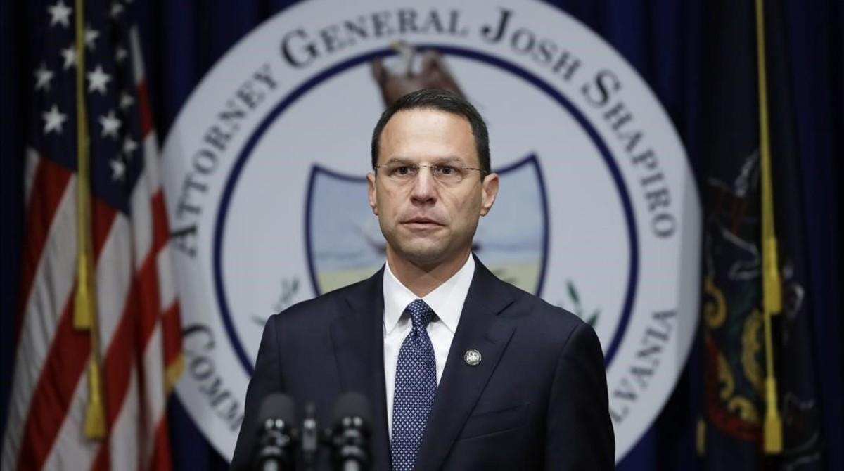 El fiscal general del Estado, Josh Shapiro.