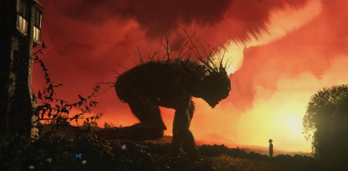 Fotograma de 'Un monstruo viene a verme'.