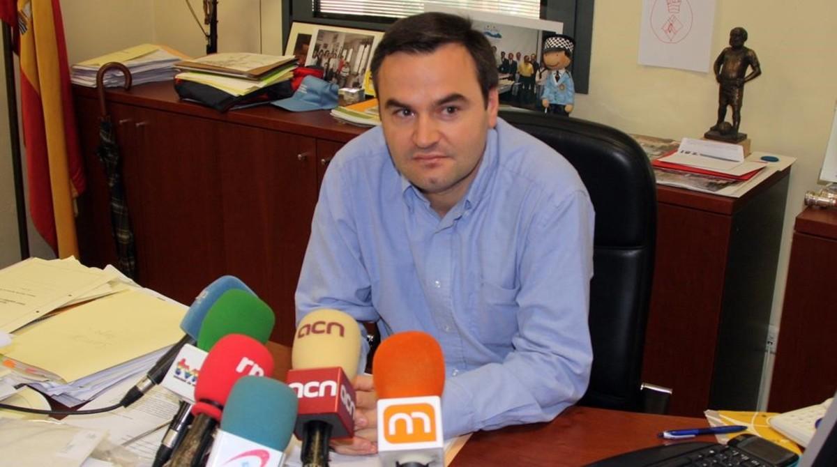 El exalcalde de Snat Andreu de Llavaneres, Bernat Graupera.