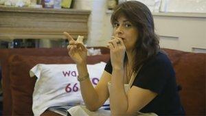 Imagen del documental de la BBC sobre la artista visual Tracey Emin