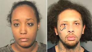 Ina Rogers y Jonathan Allen, acusados de torturar a sus 10 hijos en California.