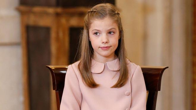 La infanta Sofía cumple 12 años.