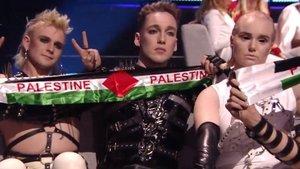 Eurovisión: Islandia sorprende mostrando su apoyo a Palestina durante las votaciones