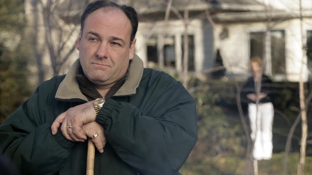 James Gandolfini, en Los Soprano