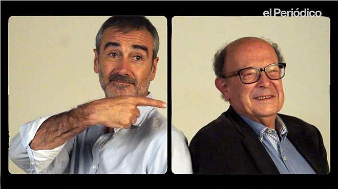 Javier Fesser y Francisco Ibáñez recomiendan Mortadelo y Filemón contra Jimmy el cachondo, película que se estrena el 28 de noviembre.