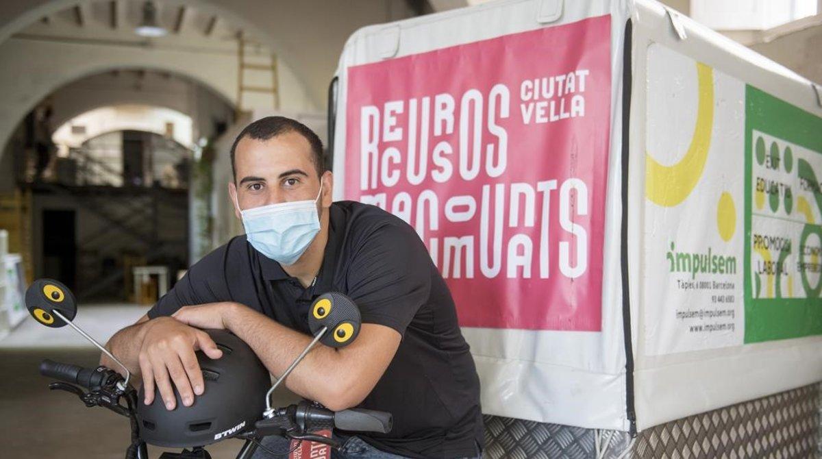 Barcelona crea un servei ètic de 'riders' per recolzar el comerç