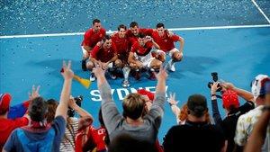 Djokovic lidera Sèrbia en la conquesta de l'ATP Cup contra Espanya