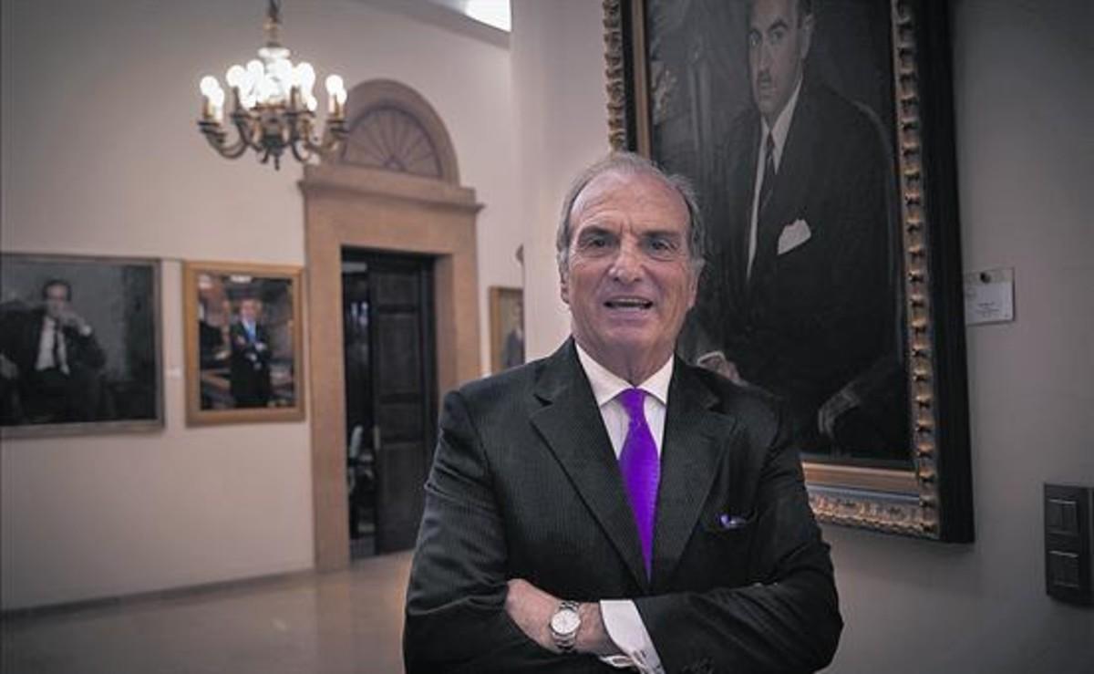 Joaquín Gay de Montellà, presidente de la patronal Foment del Treball.