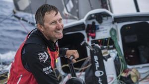 John Fischer, el tripulante desaparecido en el mar.