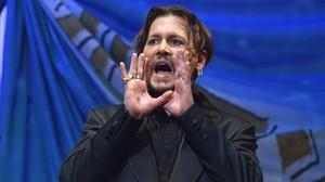 Una imagen de Johnny Depp, en junio del 2017.