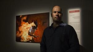 Ronaldo Schemidt,autor de la imagen ganadora de World Press Photo 2018, en el CCCB.