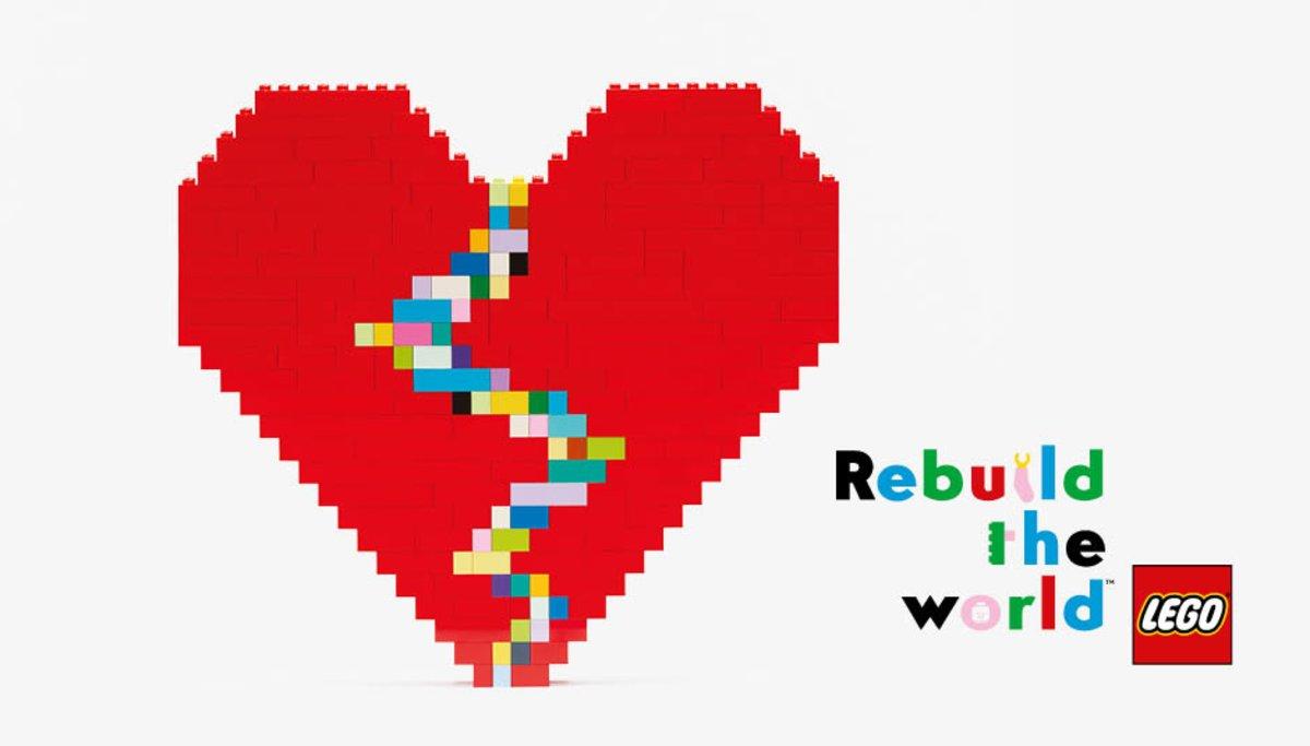 Reconstruye el mundo con LEGO