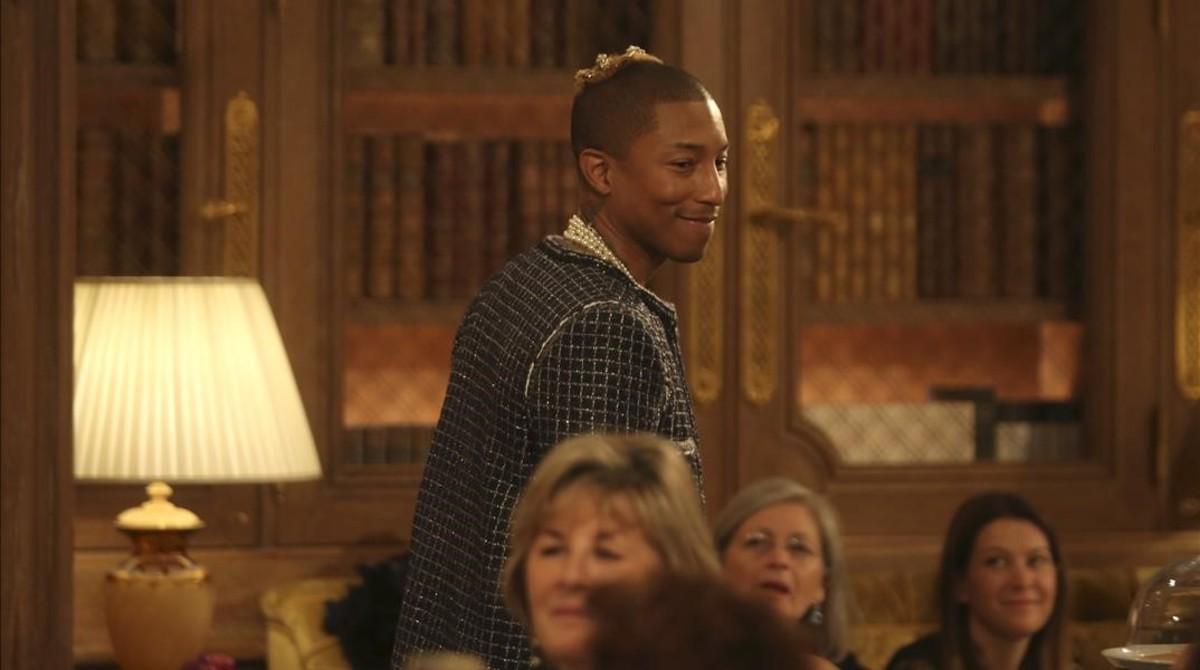 El cantente Pharrell Williams.