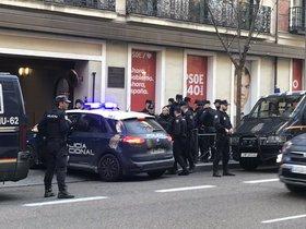 Detenen Melisa Domínguez, líder de Llar Social Madrid després d'irrompre a Ferraz