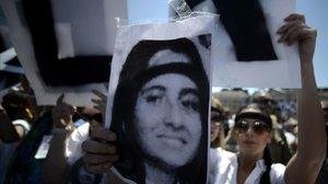 Manifestación por la desaparición de Emanuela Orlandi, en el 2012.