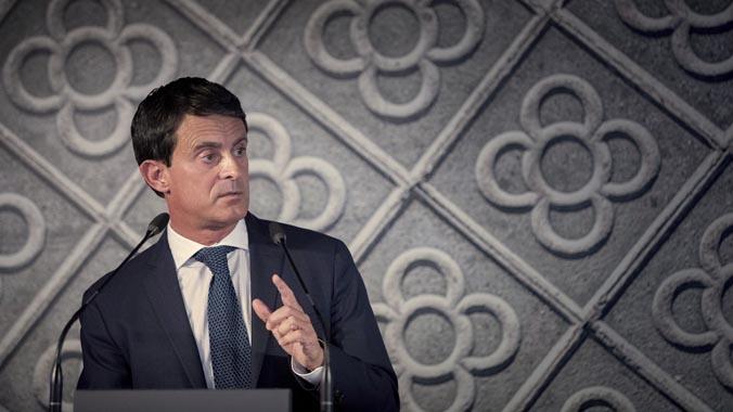 Valls es llança a buscar l'alcaldia de Barcelona amb un discurs conciliador