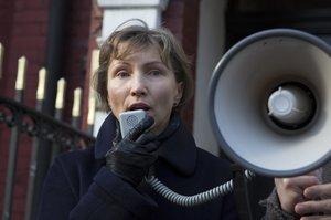 Marina Litvinenko, viuda del exespía ruso asesinado por una intoxicación de polonio-21.