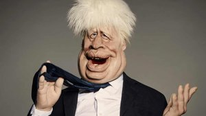 La marioneta de Boris Johnson, en 'Spitting image'.