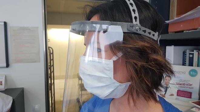 L'Hospital de Sant Pau i HP creen una mascareta impresa en 3D