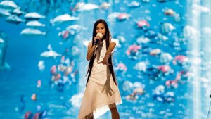 Melani deslumbra con la puesta en escena de 'Marte' en su primer ensayo en Eurovisión Junior
