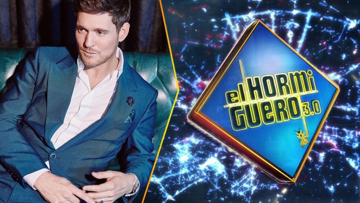 Michael Bublé, el próximo invitado de 'El hormiguero'.