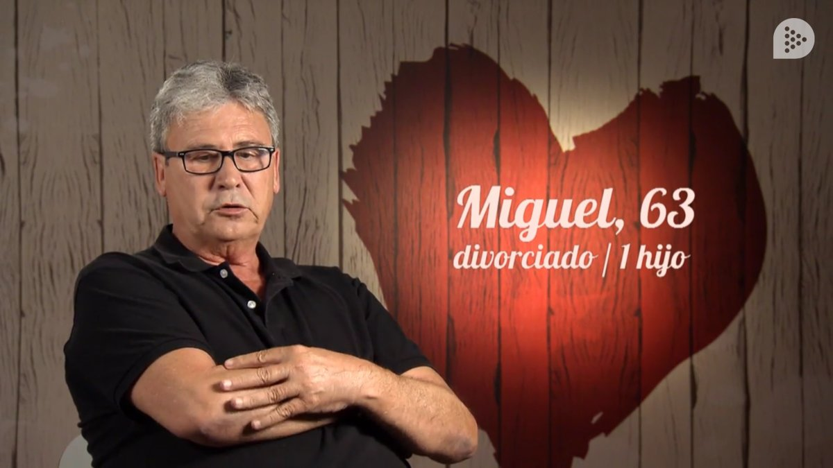 Miguel en 'First Dates'.