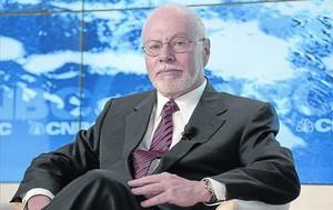 Millonario especulador .El magnate Paul Singer, durante el foro económico de Davos, en enero del 2013.