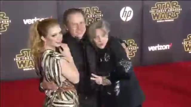 Muere la actriz Carrie Fisher a los 60 años.