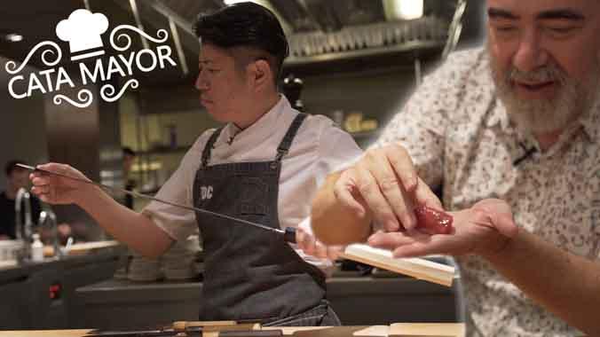 Cata Mayor: nigiris en el restaurante Koy Shunka.