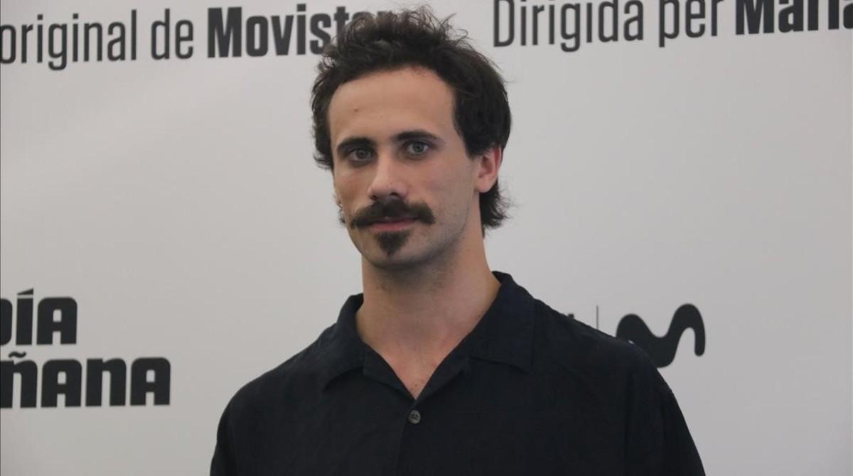 El actor Oriol Pla, protagonista de 'El día de mañana' (Movistar+).