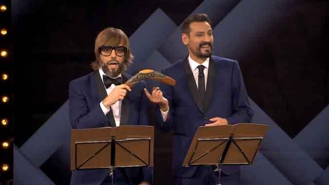 Dalmau y Andreu debutaronen TV-3.