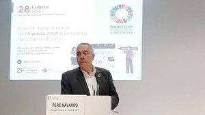 Pere Navarro, delegado especial del Estado en el Consorci de la Zona Franca de Barcelona.