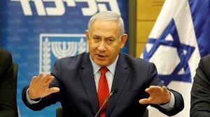 El primer ministro israelí, Benjmín Netanyahu.