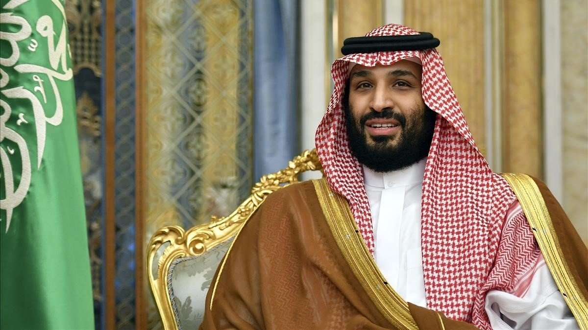 El príncipe heredero saudí Mohamed bin Salman.