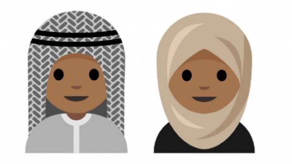 Propuestas de emojis para hombre y mujer.