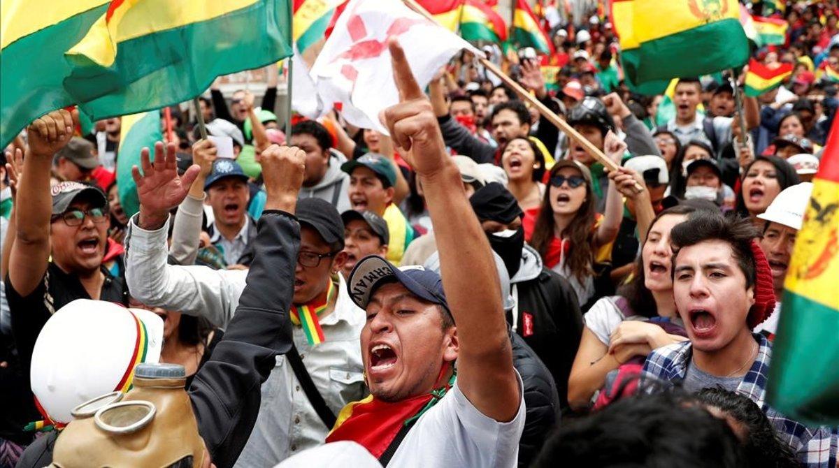 La OEA pide repetir las elecciones en Bolivia