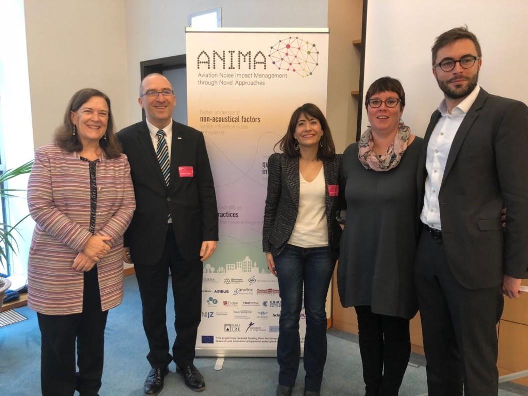Raquel Sánchez en el marco del proyecto ANIMA