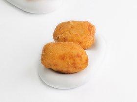 Las croquetas de Francis Paniego, chef con dos estrellas Michelin por El Portal de Echaurren (Ezcaray, La Rioja).