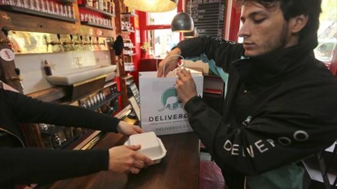 La comida a domicilio vive un 'boom' por la tecnología y los millennials