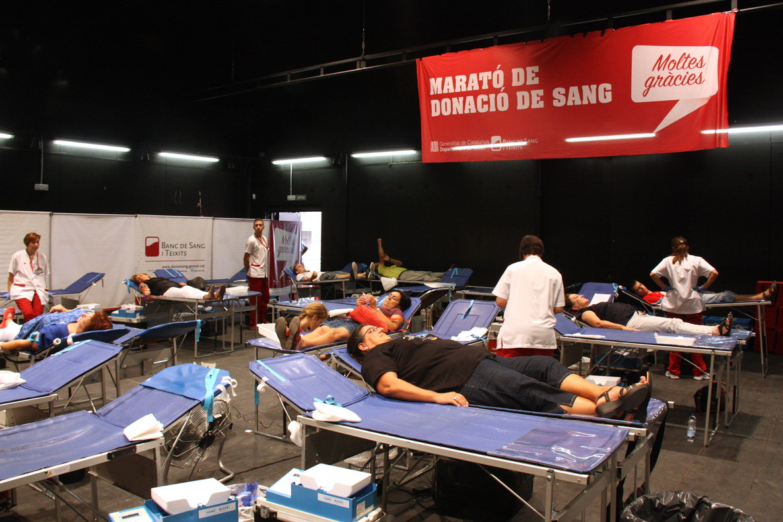 Crida per donar sang a Catalunya