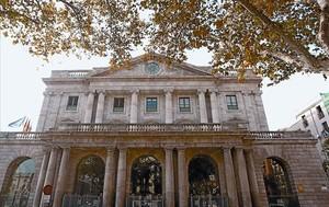 La sede de la Cámara de Comercio de Barcelona, en el edificio de la Llotja.