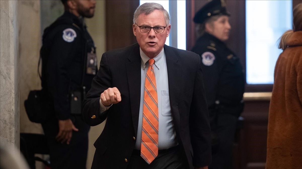 El senador republicanio,Richard Burr.