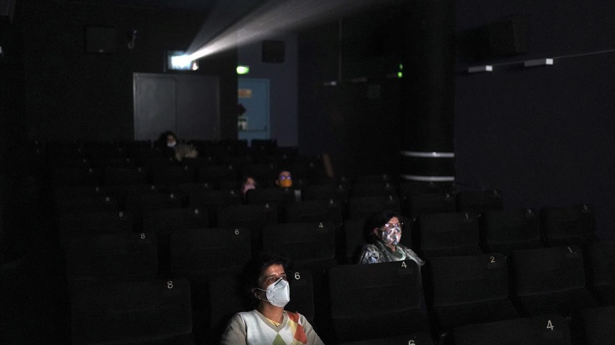 Sesión en los cines Renoir Plaza España de Madrid
