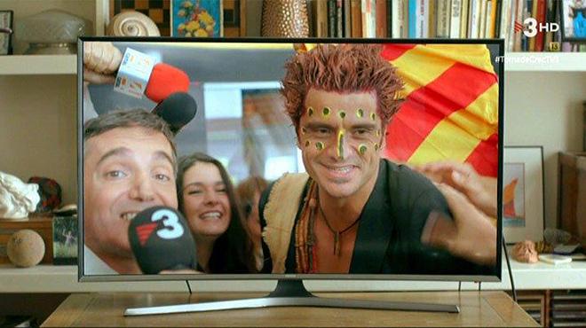 Apoteósico recibimiento a Joel Joan en El Prat ('El crac', TV-3).