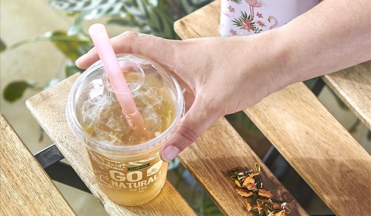 Sunny Peach del Tea Shop.