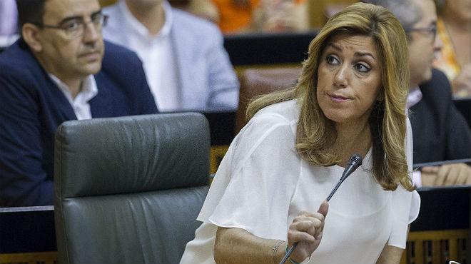 Susana Díaz no ha logrado todavía apoyos para su investidura